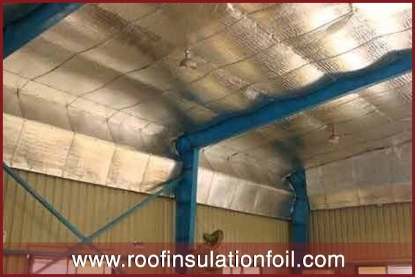 under roof insulation exporter in metal roof
